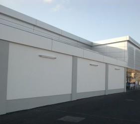 bauprotec RHS and bauprotec 850 M finish on LIDL store