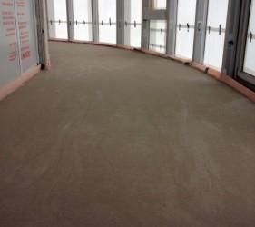 Laitance free SMET LiteFlo® Lightweight Flowing Floor Screed