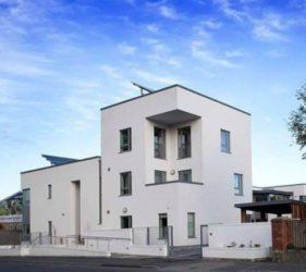 Valhalla sheltered housing_Ganson_ internal plaster supplied by SMET