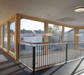 Valhalla sheltered housing_Ganson_ internal plaster supplied by SMET.ie