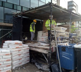 Stanmore working with SMET LiteFlo® Lightweight Flowing Floor Screed