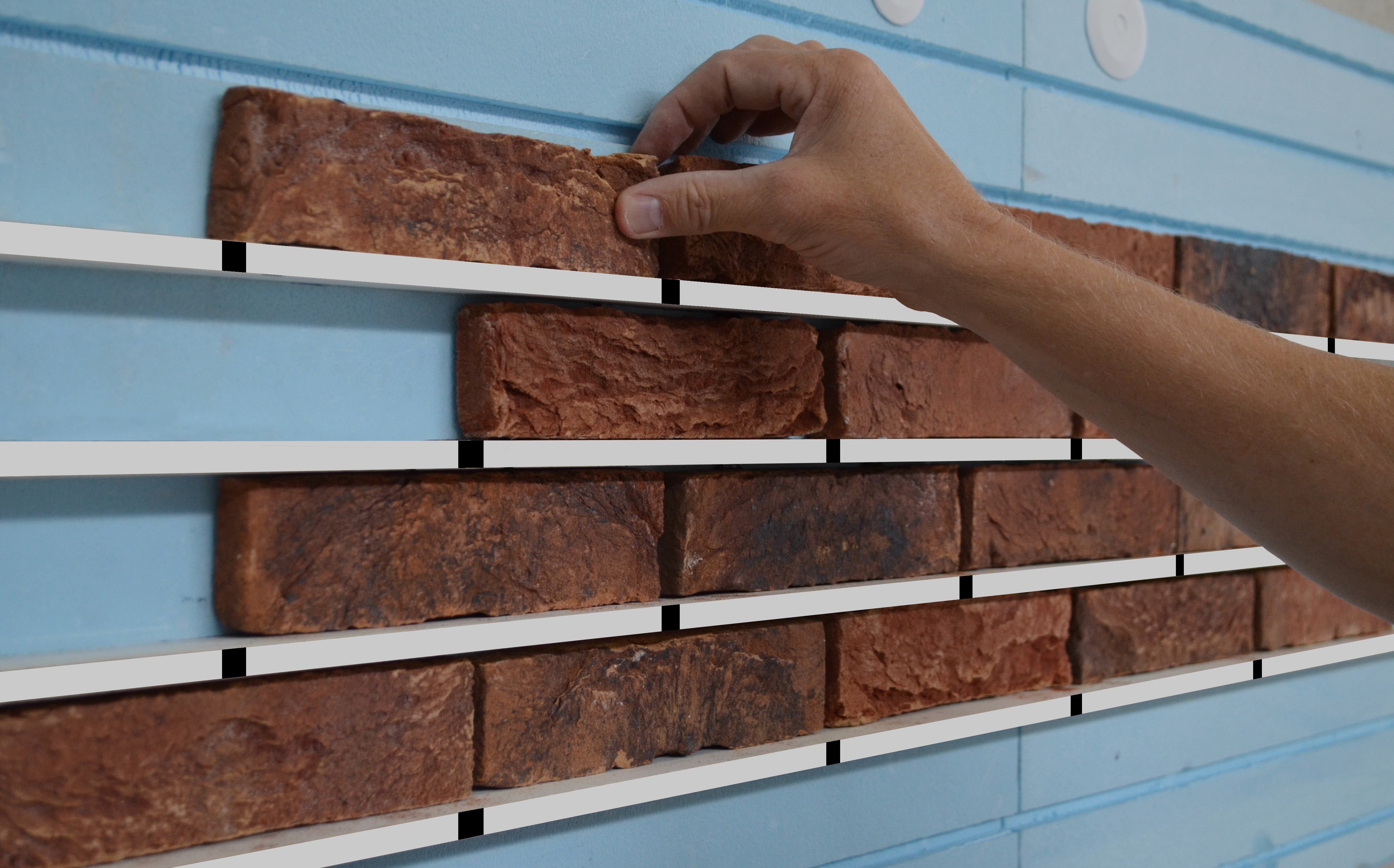 Easylationwall external wall insulation system brick slips for Stone wall insulation
