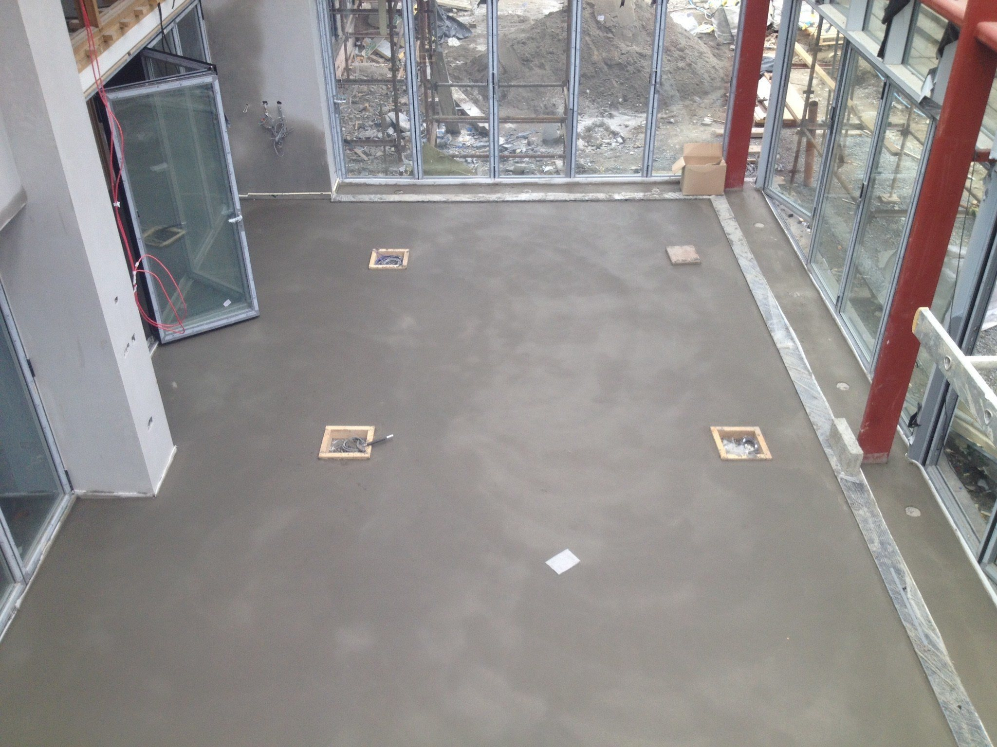 Sand cement floor screed drying times carpet review for Floor screed drying times