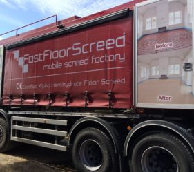 Fast Floor Screed Mobile Screed Factory