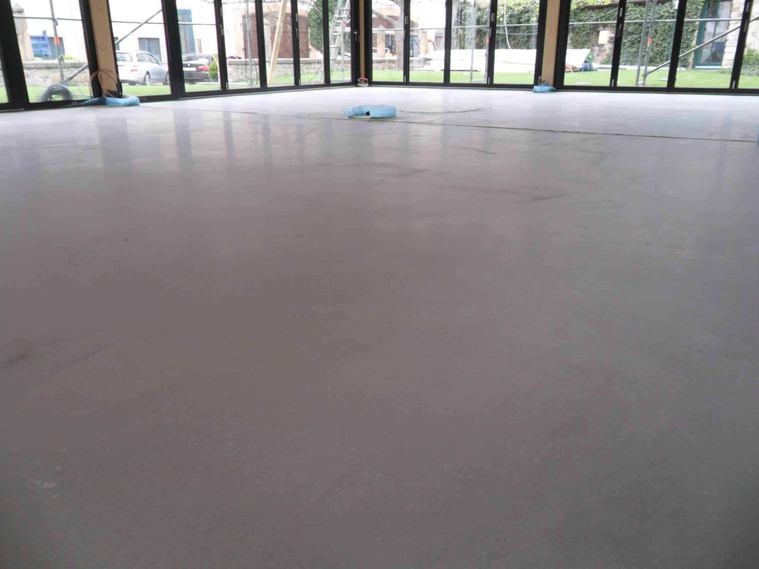 One screed to rule them all - fast drying, polished screed suitable