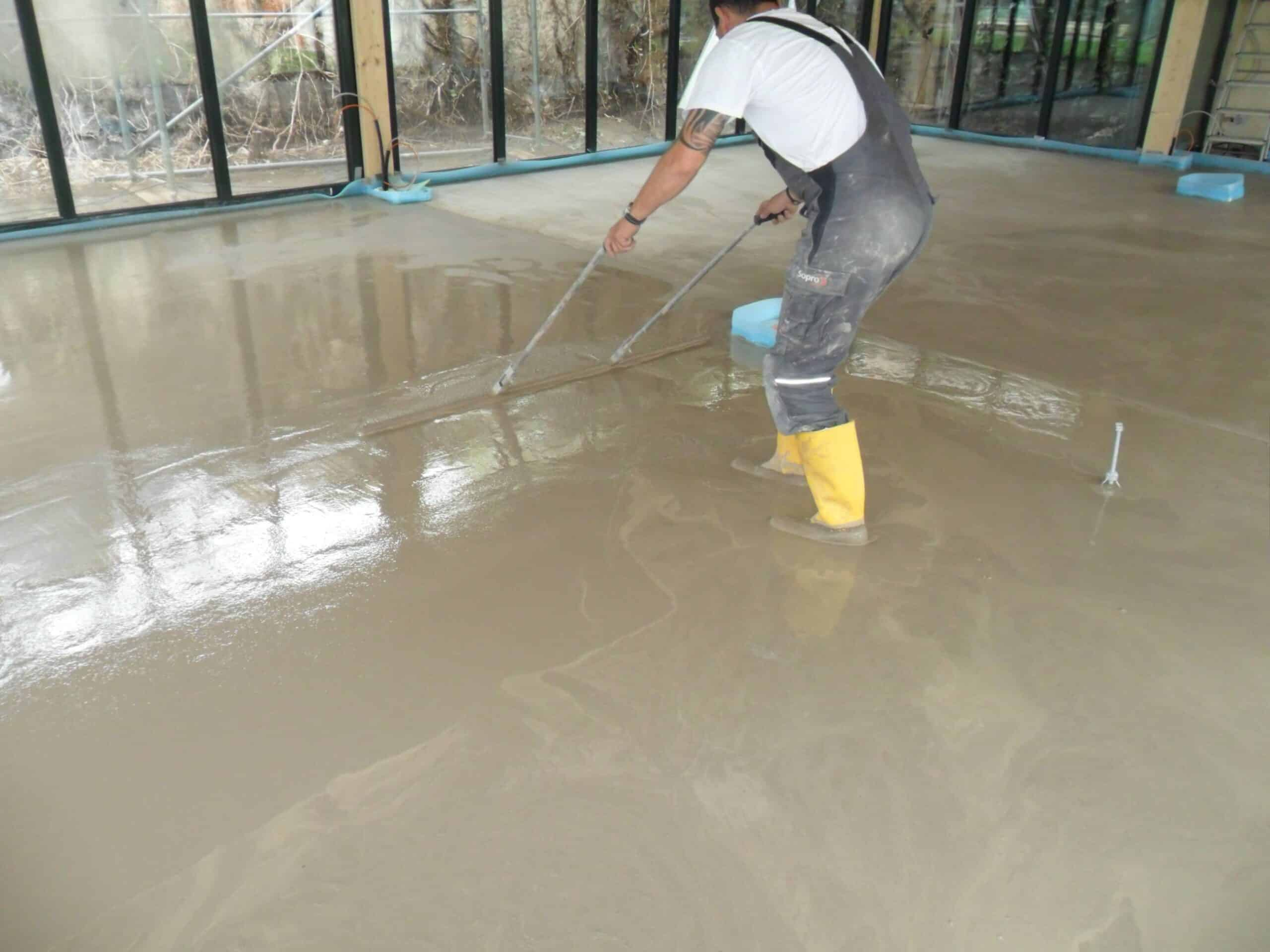 One Screed To Rule Them All Fast Drying Polished Screed