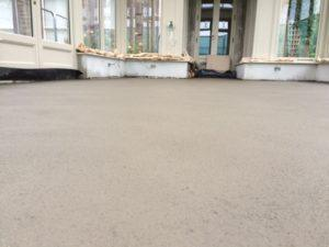 New floor installation with fast-track – rapid drying floor screed_B5