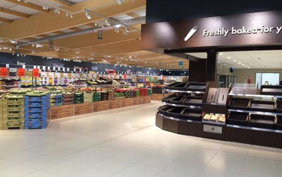 Lidl Generic interior new concept stores