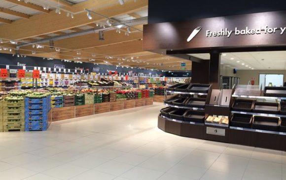 Lidl Generic interior new concept stores
