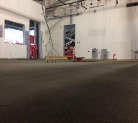 Fast Track floor using Rapidur® B5 Rapid Drying Screed Binder_B Doherty Screeding_FACEBOOK CLONEE