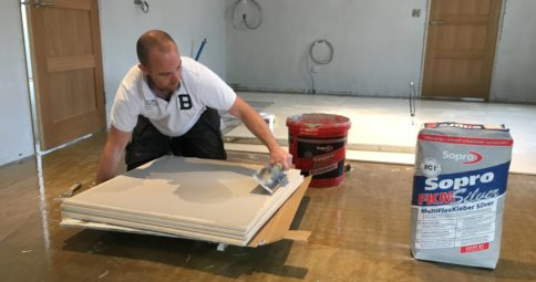 SMET _ Sopro FKM® Silver 600 Extra Rapid Set Tile Adhesive