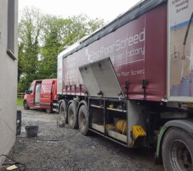 Fast Floor Screed_Mobile Screed Factory_Forest Farm, Co Kildare