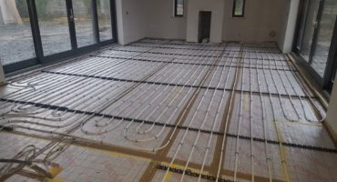 UFH_Fast Floor Screed_Forest Farm, Co Kildare