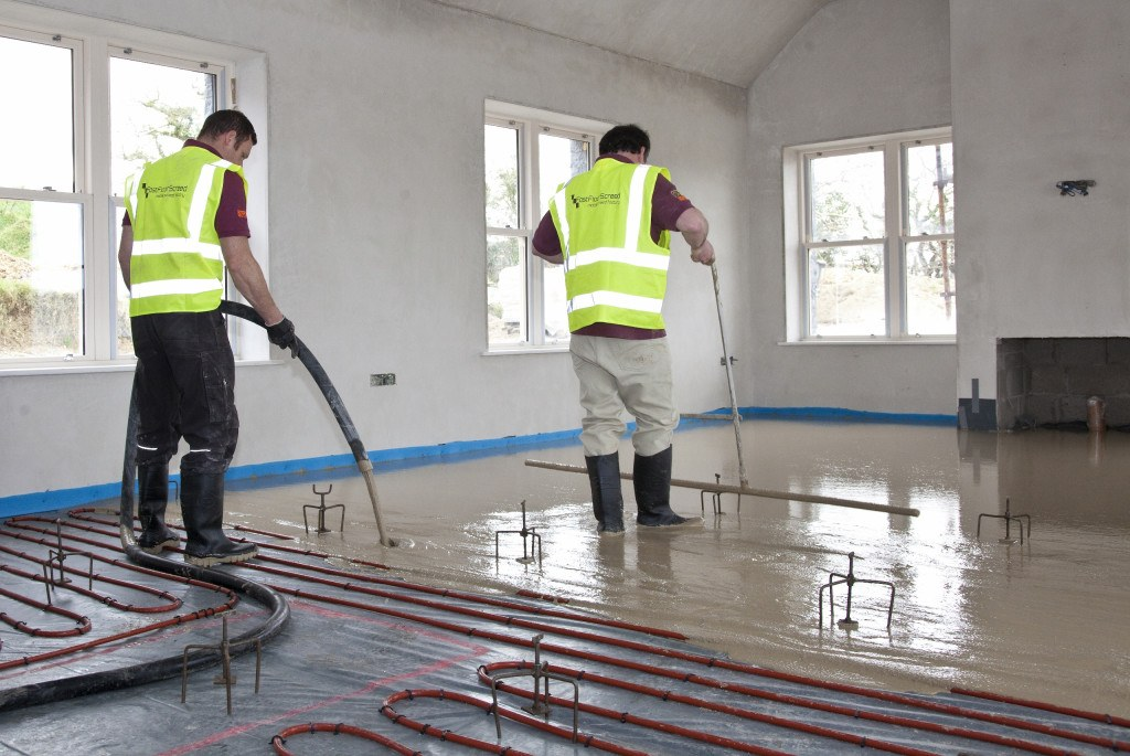 Sudanit 280 Alpha Hemihydrate Floor Screed Can Be