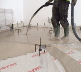 SMET delivers CASEA floor screed binders _Raddiplus NA