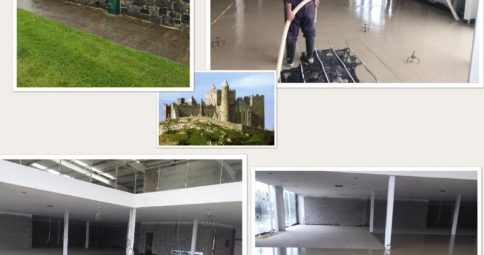 Car show room for Colm Hanly_ 400m2 over Underfloor Heating _CE Certified Alpha Hemihydrate screed_Fast Floor Screed Ltd