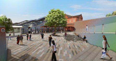 Harold Wood Station_ urban improvements