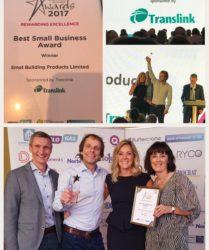 SMET wins Best Small Business Award 2017