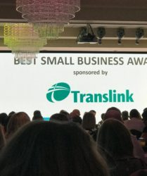 SMET wins Best Small Business Award 2017_Newry Chmaber