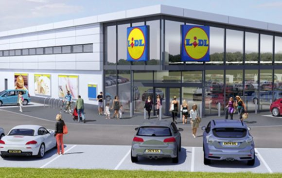 Lidl Dover built by Adston, Lidl artist impression