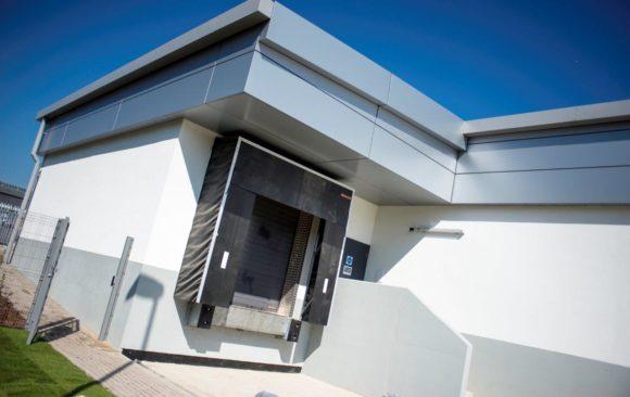 Lidl Sunderland, North Hylton Road, RDF Building Ltd, exterior bay