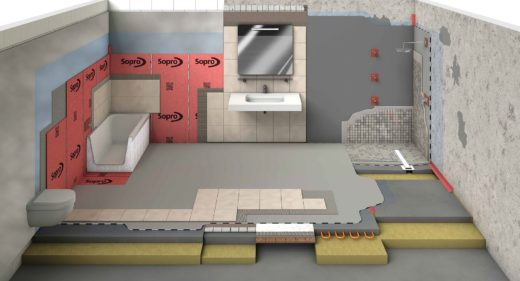 SMET Tanking and Waterproofing systems for wetrooms and showers Dec 17