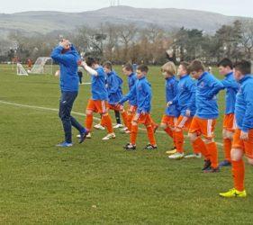 Damolly Under 12s in Ayr_ sponsorship_SMET team jackets