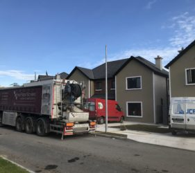 Castleoaks new homes by JC Brenco_Fast Floor Mobile Screed Factory