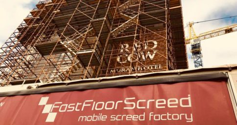 Red Cow _Fast Floor screed Ltd_screeding for apartments and hotels