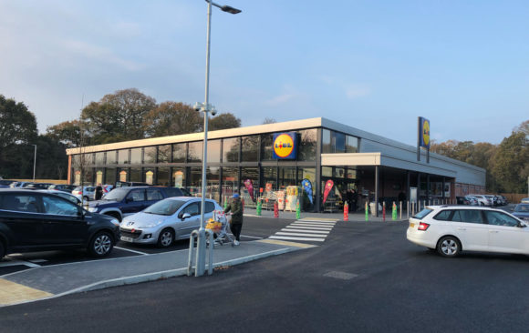Hayling Island _Adston Contractors_ Bauprotec Render System for Lidl_supplied by SMET