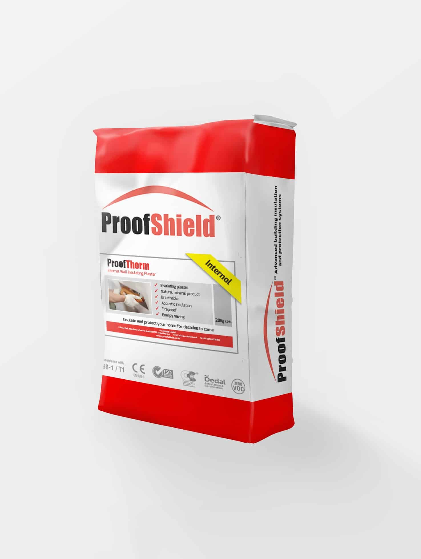 ProofTherm Insulating Render Plaster breathable insulating