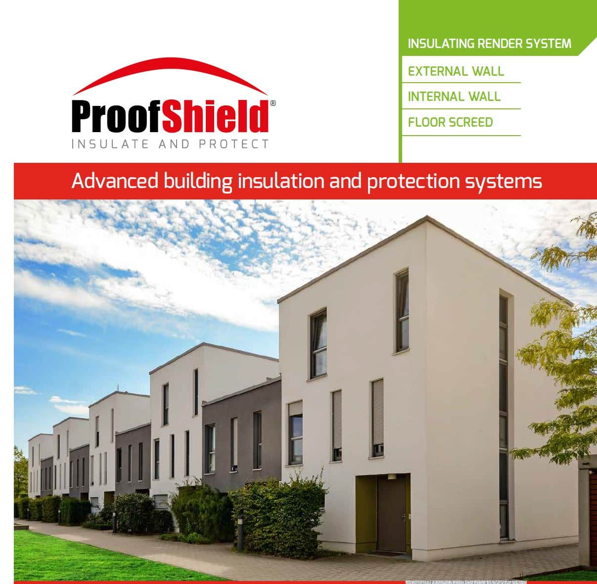 ProofTherm Insulating Render Plaster breathable insulating render