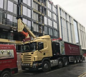Cairn Plc in Hanover quay_alpha hemihyfrate screed_apartments- Fast Floor