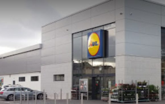 Lidl Belgard Road_ Duey Bros application of Bauprotec render system_smet.ie
