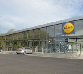 lidl New look Concept Store Exterior