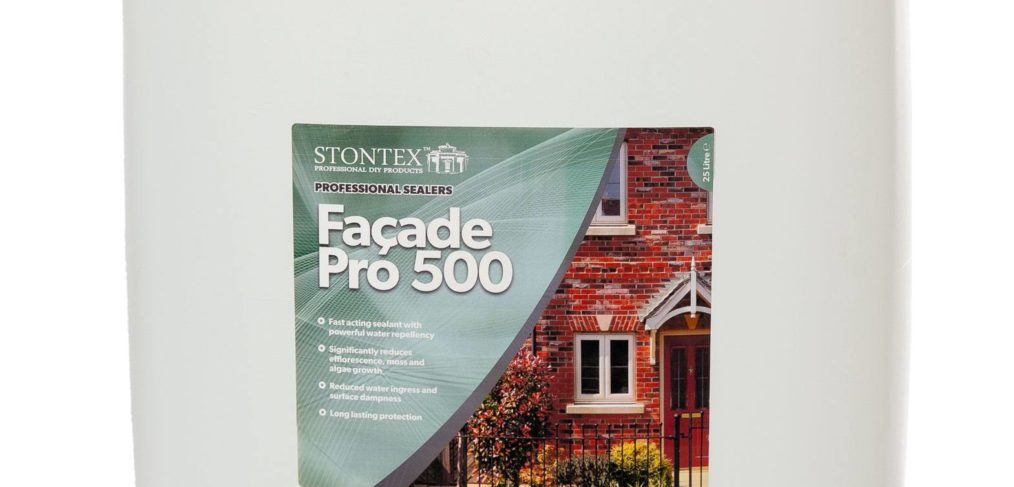 tonTex Façade Pro500 - a high performance penetrating hydrophobic treatment
