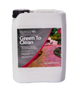 StonTex Green to Clean Algae and Moss remover