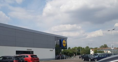 Lidl Peterborough, Adston main contractor render supplied by SMET