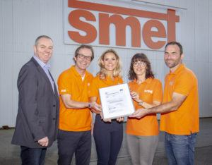 SMET Team continues to achieve triple awards in latest ISO standards