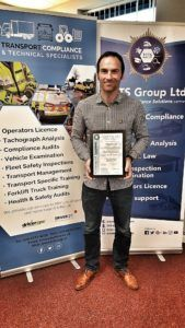 SMET Transport Manager Richard Nummy renews professional qualifications