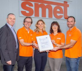 Team SMET continues to achieve triple BSI award in ISO standards