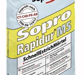 Sopro Rapidur® M5 -747- Rapid Drying Floor Screed
