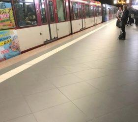 Sopro Rapidur M5 - Bahnhof am Hauptbahnhof Düsseldorf
