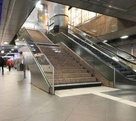 Fast Track Floors. Sopro Rapidur M5 screed used in Bahnhof am Hauptbahnhof Düsseldorf