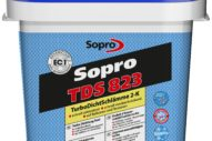 Sopro TDS 823 – Two-component Turbo Tanking Slurry