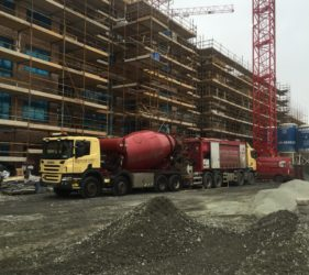 Floor Screed for Cairn Homes, Orwell road, Dublin 20,000m2