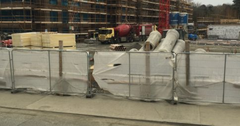 Mobile Screed Factory delivers to Cairn Homes, Orwell Rd Dublin total of 20,000m2