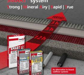 SMART Fast Track Floor Renovation System | Void Filling Solution | from SMET