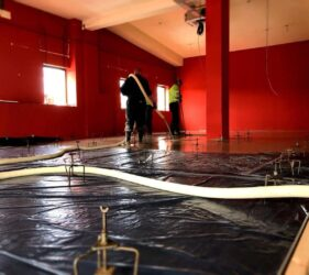 600m2-of-CE-Certified-Alpha-Hemihydrate-screed_fast-Floor-Screed_Gym