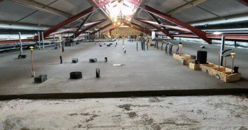 20,000 m2 Rapidur® B5 Rapid Drying Floor Screed_B Doherty Screeding